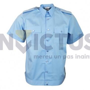 Cămașă bluză pentru cadre bărbați maneca scurta MApN - 101023