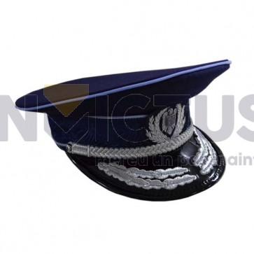 Șapcă culoare bleumarin indigo pentru Ofițeri și Agenți Vară IGPR – 104057