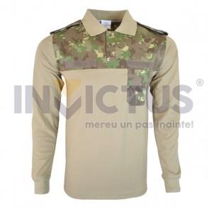 Tricou COMBAT mânecă lungă, polo - 101166