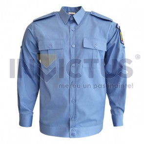 Cămașă bluză mânecă lungă bărbați - Jandarmi - 102019