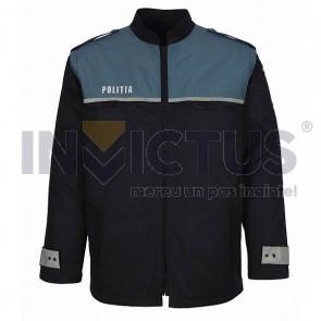 Bluză matlasată cu mâneci detaşabile bărbaţi-Poliţie - 104011