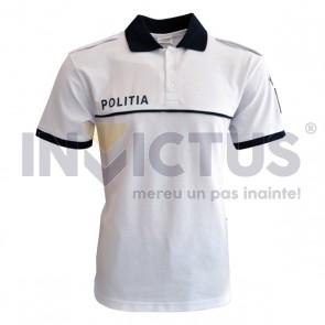 Tricou polo IGPR cu serigrafie și emblemă - 104036