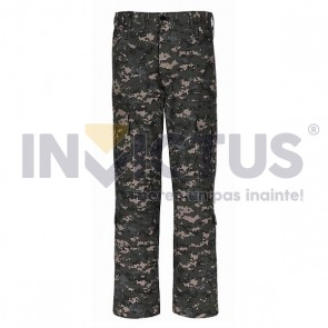 Pantalon costum camuflaj digital urban - 104055