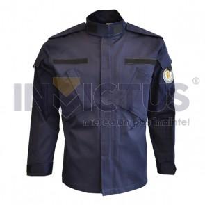Bluză costum de culoare bleumarin - 123024