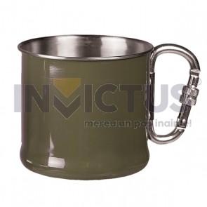 Cană metalică cu carabină - 500 ml - 232903