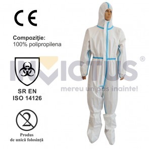 Combinezon de protecție biologic de unică folosință - 241894