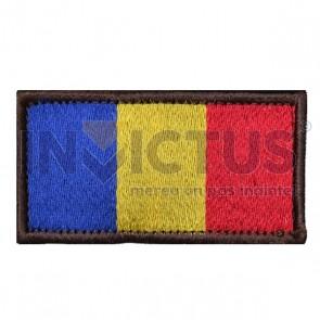 Ecuson brodat COMBAT tricolor - 101170