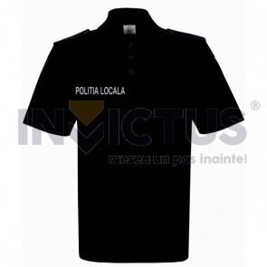 Tricou polo Poliția Locală cu serigrafie și emblemă - 108037