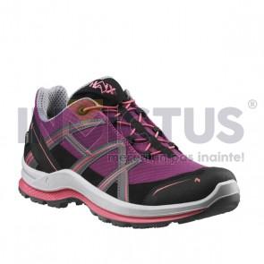 Pantof HAIX BLACK EAGLE ADVENTURE 2.1 GTX WS low/purple-rose - 202880